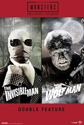 The Invisible Man and The Wolf Man Double Feature
