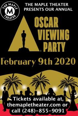 The Maple Theater Oscar Gala 2020