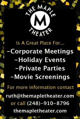 Maple Theater Events
