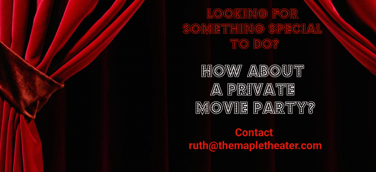 Theater Rentals and Private Events